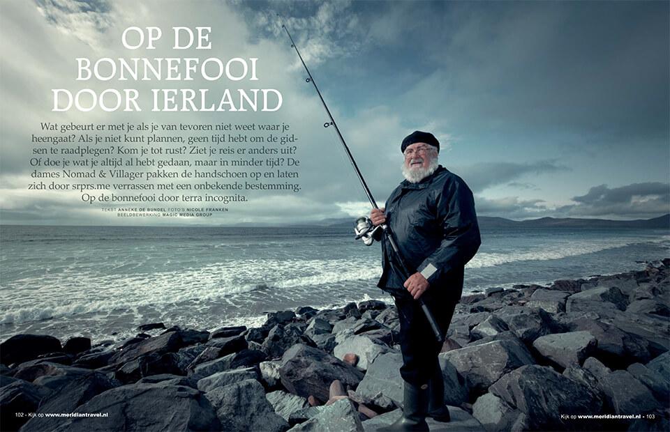 Publicatie op de bonnefooi door Ierland
